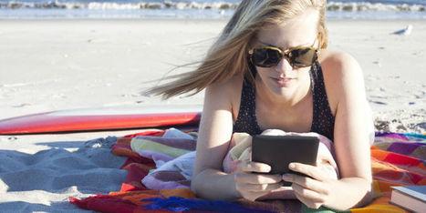 Quelle liseuse numérique emporter en vacances ? (Femme Actuelle) | Veille professionnelle des Bibliothèques-Médiathèques de Metz | Scoop.it