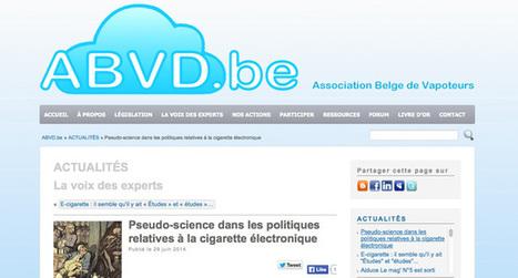 Les pseudo arguments scientifiques sur la cigarette électronique ... | cigarettevirtuelle | Scoop.it