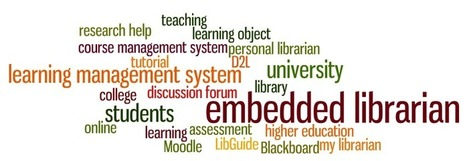 Embedded Librarian 101: How to Get Started | School Library Teachers: Collaborators of Knowledge | Scoop.it