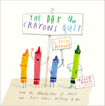 The Day the Crayons Quit by Drew Daywalt - Penguin Books USA | Black-Eyed Susan Picture Book Nominees 2014-2015 | Scoop.it