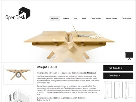 Des meubles open-source pour concurrencer Ikea | Fab(rication)Lab(oratories) | Scoop.it