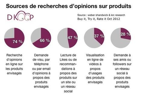 Les avis des consommateurs dans la décision d'achat | Social Media Curation par Mon-Habitat-Web.com | Scoop.it
