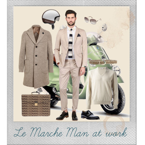 Le Marche Man at Work | Le Marche & Fashion | Scoop.it