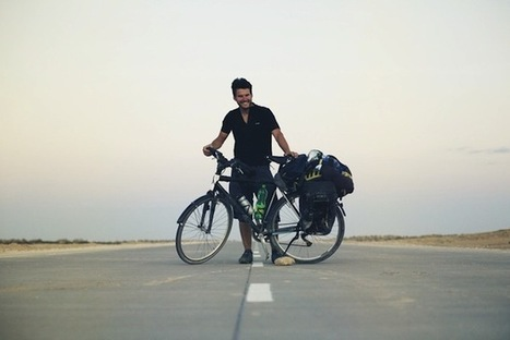 Photographer Embarks on 40,000km Bike Trek Around the World with His Camera | MediaMentor | Scoop.it