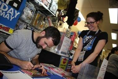 Ryan K Lindsay impressing the staff at Impact Comics - Comic Book Resources | PAS CHER NIKE SHOX EN VENDRESHOXFR | Scoop.it