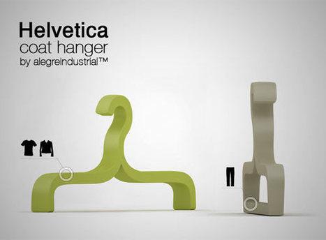 Helvetica Hanger | Art, Design & Technology | Scoop.it