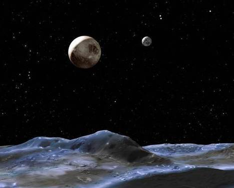 Giant Oceans Hidden Under Pluto's Moon Charon? | Science, Space, and news from 'out there' | Scoop.it