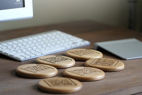 Custom QR Code Wooden Coasters – Made by Tinkering Monkey | Garrett Gee | Casino No Deposit codes, Free Real Slots with No Wagering | Scoop.it