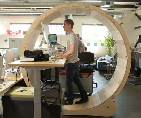 Hamster Wheel Standing Desk | baby boomer entrepreneurs | Scoop.it