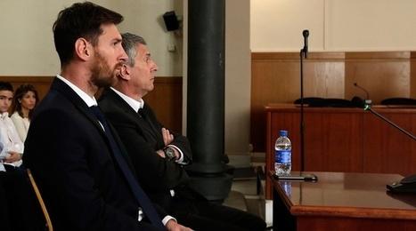 Barcelone: Lionel Messi condamné à 21 mois de prison pour fraude fiscale | Magouilles blues | Scoop.it