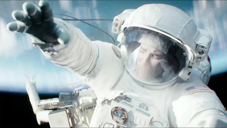 Gravity: watch Sandra Bullock and George Clooney in the new full-length trailer of the space-walk thriller - video | Listening activities for English language learners | Scoop.it