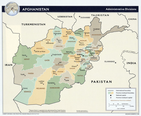 Map of Afghanistan | Kabul Beauty School - Afghanistan | Scoop.it