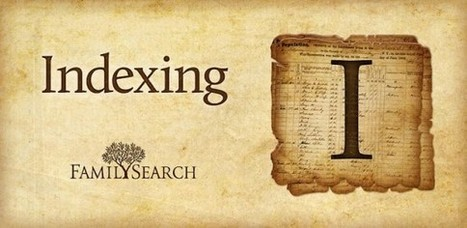 Indexation, le système FamilySearch | genBECLE.org | GenealoNet | Scoop.it