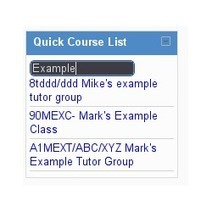 Moodle plugins directory: Quick Course List | elearning stuff | Scoop.it