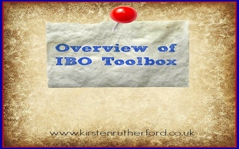 Overview Of IBO Toolbox - Kirsten Rutherford | Social Media Marketing | Scoop.it