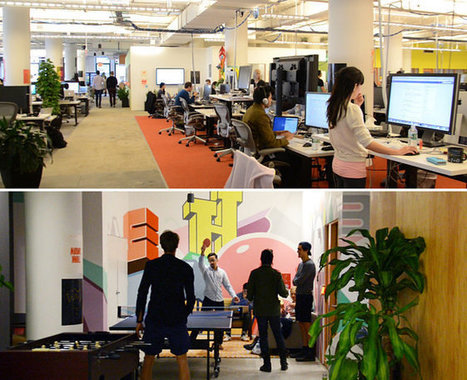 The 'Creative' Tech Company Office: Inspiring or Just Childish? | Creativity Scoops! | Scoop.it