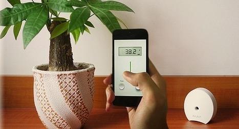 Quels capteurs connectés pour mesurer la qualité de l'air intérieur ? | Domotique, smart grids et gestion énergétique | Scoop.it