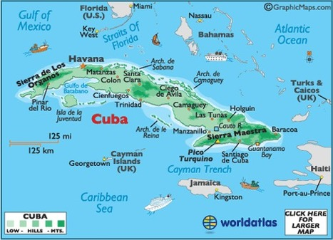 Map of Cuba   Cuba, Josh Crouch   Scoop.it