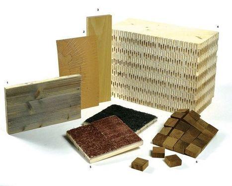 Matériauthèque - Le bois et ses dérivés | L'Etablisienne, un atelier pour créer, fabriquer, rénover, personnaliser... | Scoop.it