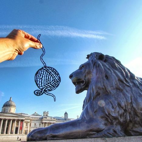 I Transform Famous Landmarks Using Paper Cutouts | What tool to use for your final project in ESL classes. | Scoop.it