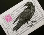 edgar allan poe raven on Etsy, a global handmade and vintage marketplace. | Edgar Allan Poe | Scoop.it