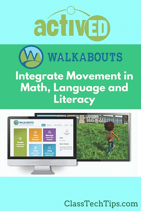 Walkabouts: Integrate Movement in Math, Language and Literacy - Class Tech Tips by Monica Burns | iGeneration - 21st Century Education (Pedagogy & Digital Innovation) | Edtech PK-12 | Scoop.it