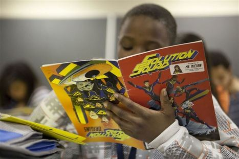 Superheroes come to math students' rescue in one Elkhart classroom   Innovative Design in Educational commons   Scoop.it