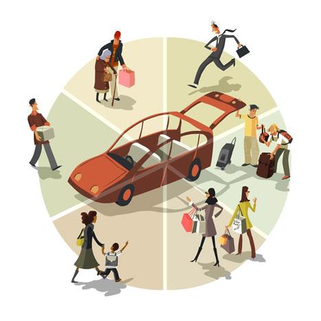 Le covoiturage est-il concurrent des transports collectifs ? - 6t - Le blog   Mobilités, modes de vie et modes de ville   Scoop.it
