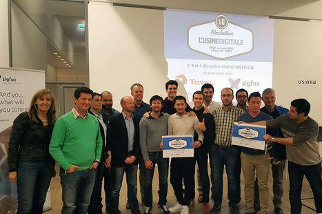Découvrez les vainqueurs du 2e hackathon IoT de L'Usine Digitale | Experts IT | Scoop.it