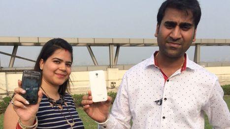 Hands on with India's £3 smartphone - BBC News | International Economics: Pre-U Economics | Scoop.it