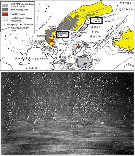 Hydrothermal influence on nearshore sediments of Kos Island, Aegean Sea, Greece | Mineralogy, Geochemistry, Mineral Surfaces & Nanogeoscience | Scoop.it