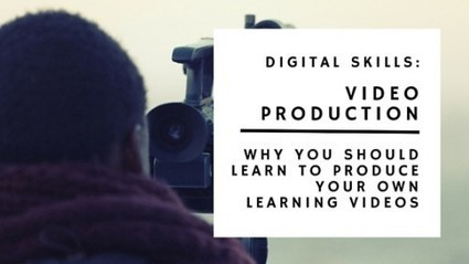 Why You Should Produce Your Own Video Learning Content | Teaching and Learning software and topics | Scoop.it
