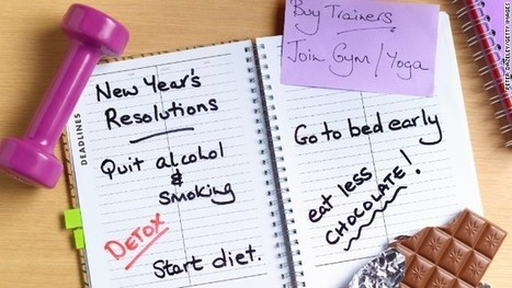 Make a new kind of New Year's resolution - CNN   Everyday Geek Girl Stuff   Scoop.it