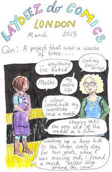 Laydeez do Comics London March 2013 | Ladies Making Comics | Scoop.it