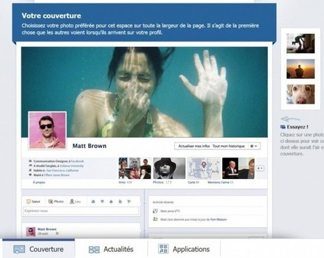 Le journal Facebook bientôt imposé aux abonnés | Web Marketing Magazine | Scoop.it