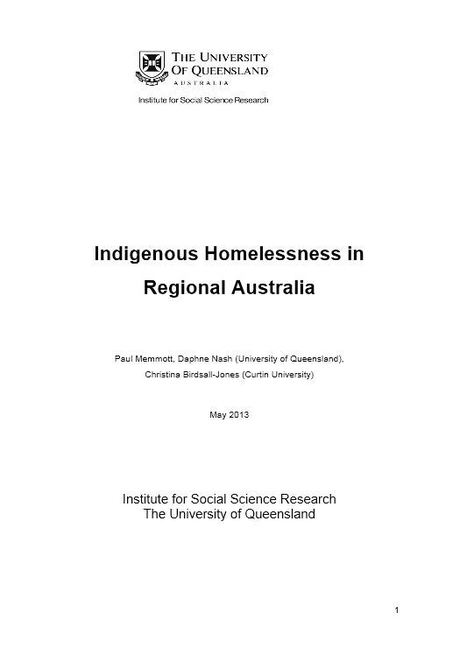 Indigenous homelessness in regional Australia | Australia & Europe & Africa | Scoop.it