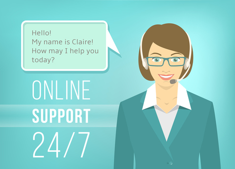 6 Tips for Improving Online Customer Support | Online Chat Support Service for Website | Scoop.it
