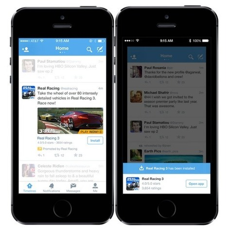 Twitter Rolls Out App Install And Engagement Ads, And New Click Pricing, Globally | MarketingHits | Scoop.it