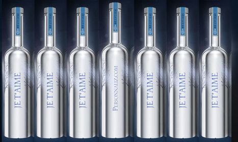 La  bouteille de vodka Belvedere Silver Laser se personnalise - Personnali-Z | personnalisation et pop up store | Scoop.it