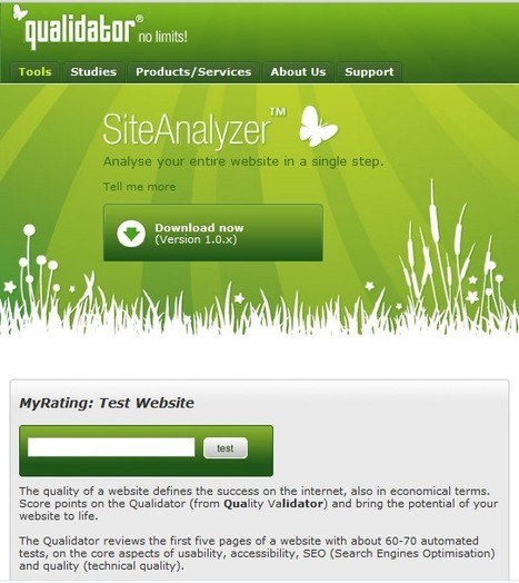 Qualidator - website quality validation & monitoring - Tools | TICs para los de LETRAS | Scoop.it