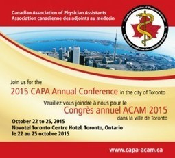 CAPA 2015 Conference | CAPA - ACAM | CME-CPD | Scoop.it