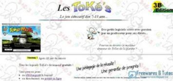 Les ToKé's : des logiciels éducatifs gratuits pour aider les enfants à apprendre en s'amusant | TIC et TICE mais... en français | Scoop.it