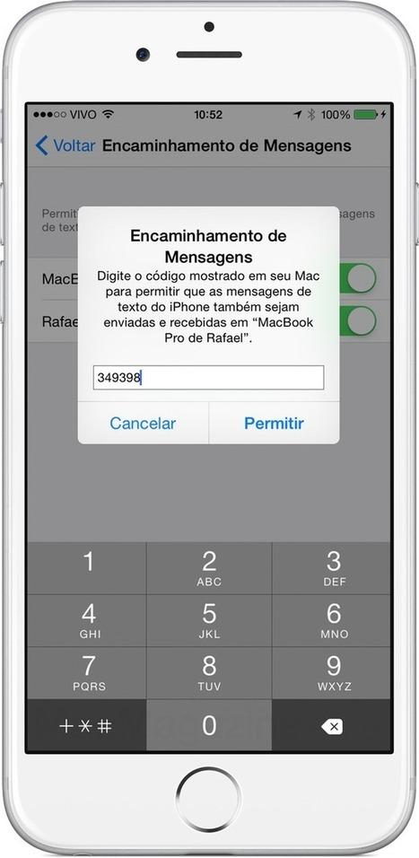 Saiba como enviar e receber mensagens (SMS e MMS) do iPhone pelo Mac e pelo iPad | Apple iOS News | Scoop.it