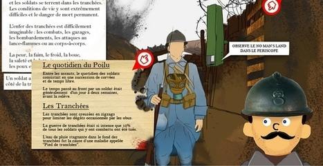 Découvrir la première guerre mondiale - App-enfant | Ecriture mmim | Scoop.it