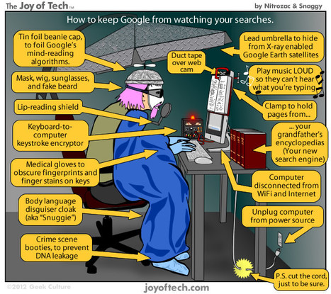 How to keep Google from spying on your searches (comic) | Moderation in All Things.... | Scoop.it