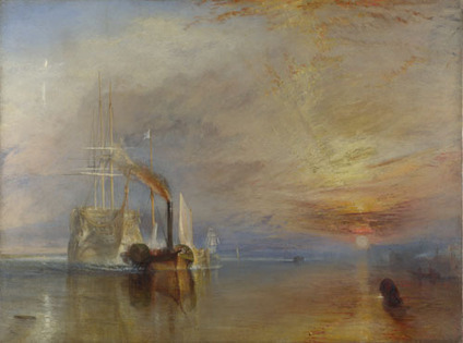 Joseph Mallord William Turner | The Fighting Temeraire | NG524 | The National Gallery, London | journey in art | Scoop.it