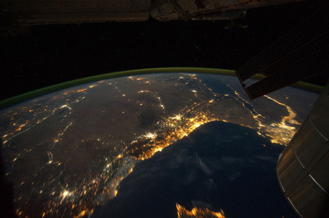 Bethlehem on Christmas Eve, seen from space | Technoculture | Scoop.it