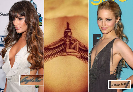 Celebrity Rib Cage Tattoos: From Rihanna and Chris Brown to Miley Cyrus and ... - Wetpaint | Tattoos | Scoop.it