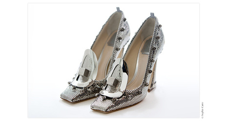 Les escarpins Dior haute couture   Couture   Scoop.it