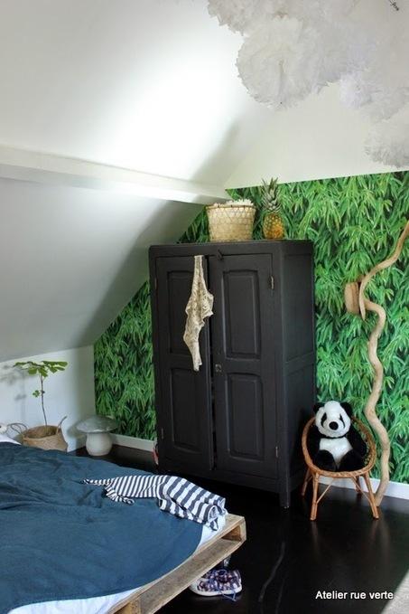 Chez Valérie, la chambre de Philippine | PLANETE DECO a homes world | Décoration et Peinture | Scoop.it